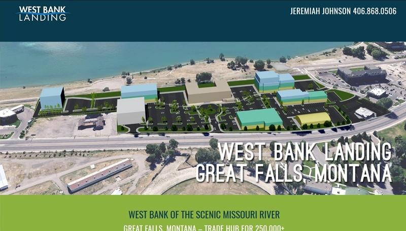 West Bank Landing Development Great Falls Montana